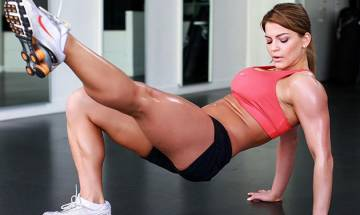 Move away men, women are naturally gifted to be more fit than you