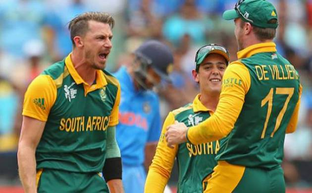 AB De Villiers and Dale Steyn (File photo)