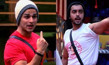 Bigg Boss 11: Priyank Sharma gets into UGLY FIGHT with Luv Tyagi, abuses him in front of Hina Khan (watch video)