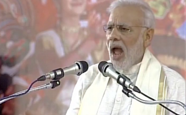 Gujarat polls 2017: PM Modi to address poll rally in Surat (File Photo)
