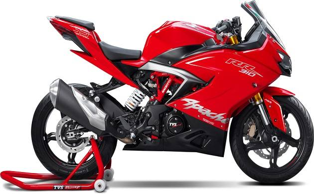 Newly launched TV APACHE will be available from late December (Source: TVS Apache website)