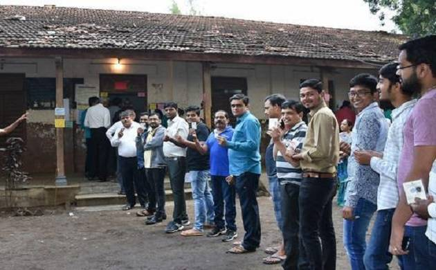 Final voter turnout in first phase of Gujarat polls 66.75 per cent, says  Election Commission (Source: PTI)