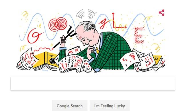 Google is celebrating 135 th birthday of German physicist and mathematician Max Born (Source: Google)