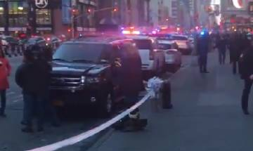 United States: Pipe bomb explodes at Times Square in Manhattan, 3 injured;  NYPD arrests Bangladeshi youth