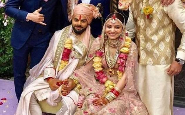 Virat Kohli and Anushka Sharma's Wedding After Party pics making rounds on social media