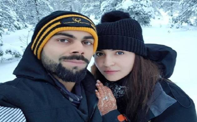 Virat Kohli and Anushka Sharma share honeymoon photo from 'Heaven'