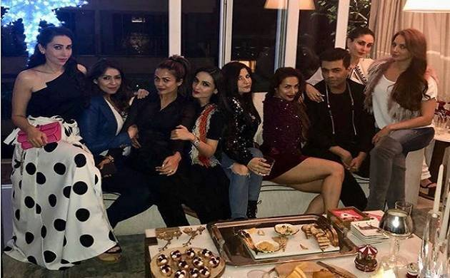 Malaika Arora TROLLED for wearing short dress at pre-Christmas party (Picture credits- Seema Khan's Instagram)