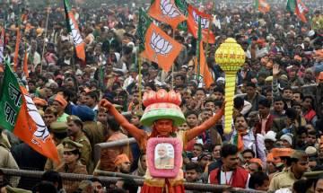 BJP juggernaut rolls on in Gujarat, tramples Congress in HP