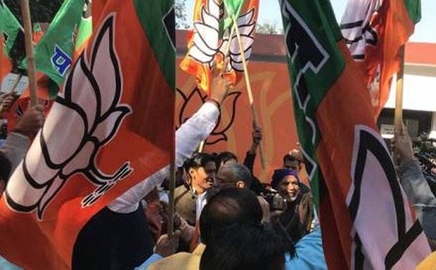 Gujarat: BJP vote share slumps since 2014; up from 2012 level (File Photo)