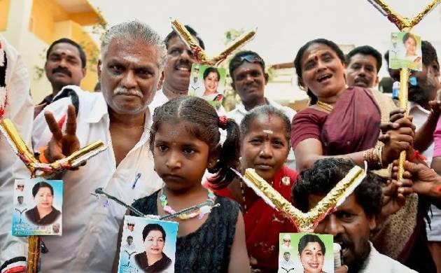 Campaigning for high stakes RK Nagar constituency ends (Source: PTI)