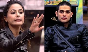 Bigg Boss 11: Hina Khan, Priyank Sharma get into UGLY FIGHT; here's why