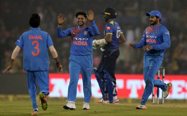 Cuttack T20: Chahal bamboozles Sri Lanka as India register biggest T20 victory (ICC twitter Image)
