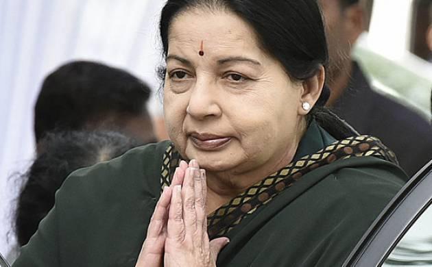 File photo of Jayalalithaa