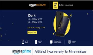 10.or D with 13MP rear camera launched at Rs 4,999 on Amazon exclusively: Know more key specs, features here