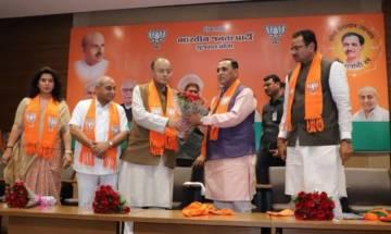Vijay Rupani to remain Gujarat chief minister, Nitin Patel his deputy
