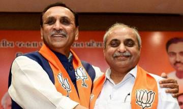 Vijay Rupani continues to be Gujarat CM; assures to work for the welfare of people