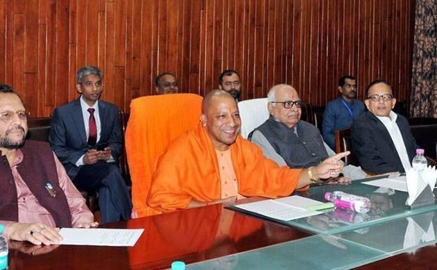 Defying superstition, UP CM Yogi Adityanath lands in Noida