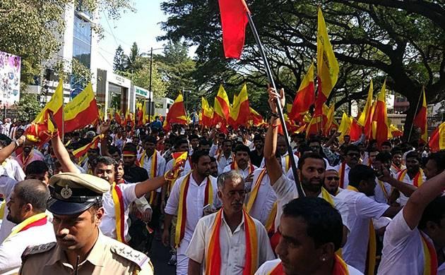 Karnataka Rakshana Vedike has prepared a charter of 8 points regarding job reservation policy for Kannadigas