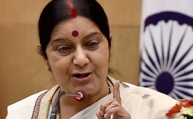 Sushma Swaraj request for vote turned down politely by AIUDF president (File Photo)