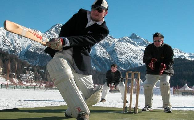 St. Moritz Ice Cricket in Switzerland from February 8-9 2018 (Source: Cricket On Ice dot Com)