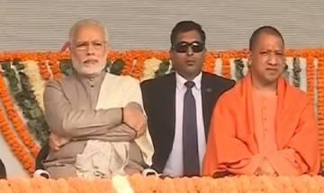 PM Narendra Modi inaugurates Delhi Metro's Magenta Line, takes a ride with UP CM Yogi Adityanath