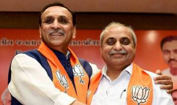 Vijay Rupani to take oath as Gujarat chief minister today; PM Modi, CMs of NDA-ruled states to attend oath-taking ceremony