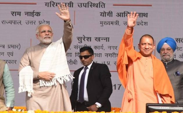 PM Modi lauds Yogi for junking Noida superstition; says blind not desirable