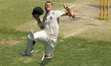 Ashes: David Warner's whirlwind ton helps Australia seize initiative on opening Day of Melbourne Test