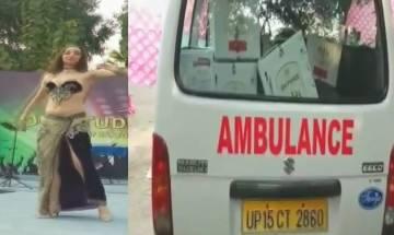 Meerut doctors meet: Liquor in ambulance, belly dancers perform; UP govt orders probe