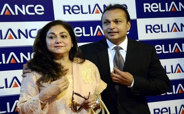 Anil Dhirubhai Ambani Group (ADAG) Chairman Anil Ambani along with his wife Tina Ambani. (File Photo: IANS)