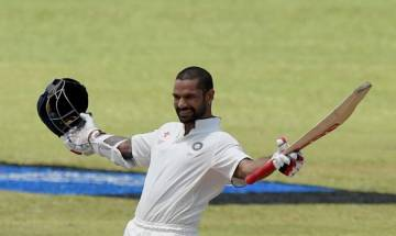 Shikhar Dhawan likely to miss first Test against South Africa due to ankle injury