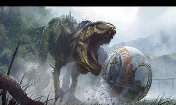 Jurassic World in China; Construction workers discover 30 fossilised dinosaur eggs at Dayu County on Christmas
