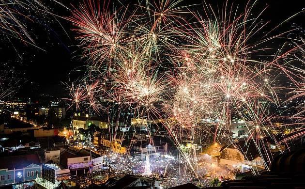 New Year celebration in Bengaluru