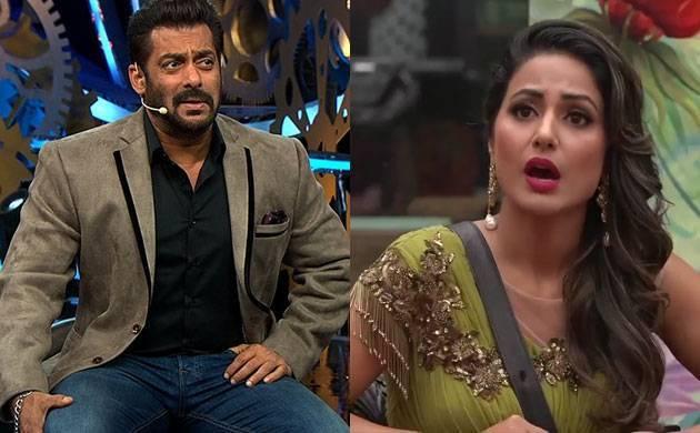 Bigg Boss 11: Salman Khan lashes out at Hina Khan during Weekend Ka Vaar episode