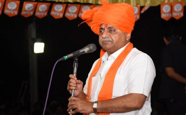 Gujarat Deputy CM Nitin Patel says fighting for self-respect, won't quit BJP (Image tweeted by @Nitinbhai_Patel)