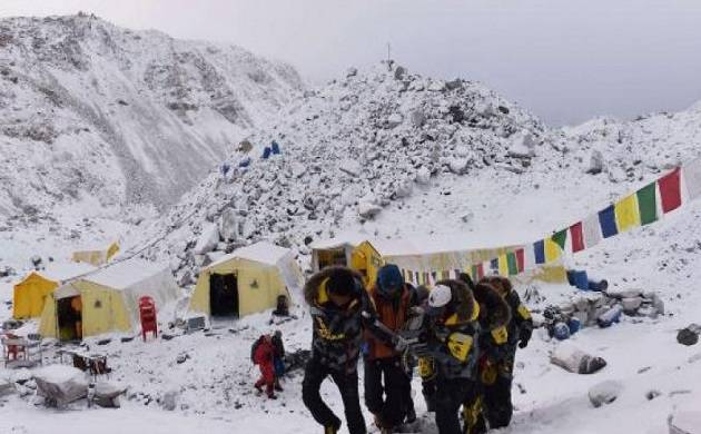 Almost 450 climbers -- 190 foreigners and 259 Nepalis— reached the summit of Everest from the south side in Nepal last year.  (Source: PTI)