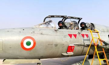 WATCH | Air Chief Marshal flies last sortie of Hawkeyes aircraft