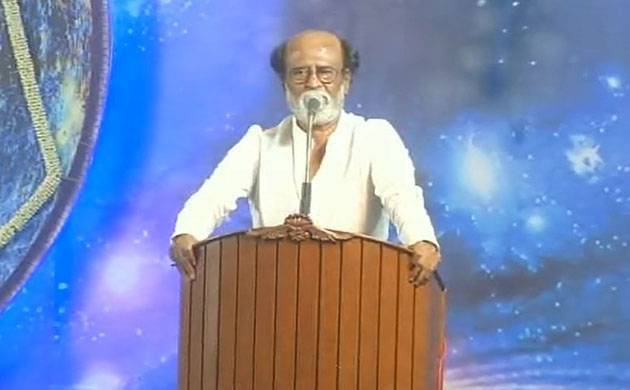Rajinikanth declares political debut, to launch party (File Photo)