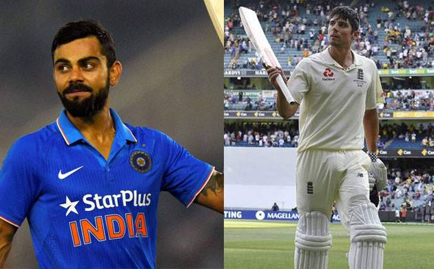 Kohli remains second in Test rankings, Cook catapults to 8th (pic credit: PTI)