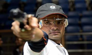 Shahzar Rizvi clinches gold in men's 10m Air Pistol at 61st National Shooting Championship