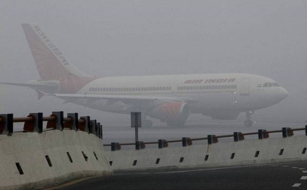 Nearly all flights arriving into and departing from Delhi were affected. (Source: PTI)