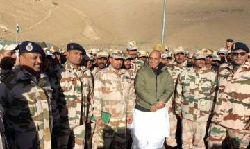 NN Exclusive 'Hind Ke Himveer': Rajnath Singh spends New Year with ITBP troops stationed along Indo-China border