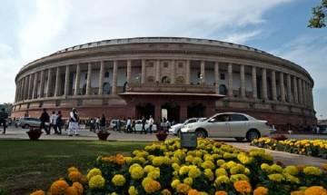 Rajya Sabha adjourned for the day following ruckus over triple talaq bill