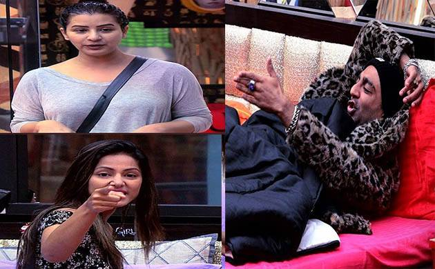 Shilpa Shine and Hina Khan targets Akash in 'Ticket to Finale' task(Image courtesy: Bigg Boss (Twitter))