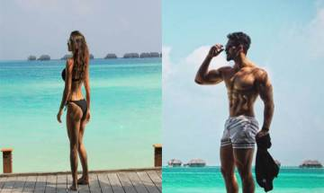 Disha Patani and Tiger Shroff show off their hot bodies under the sun