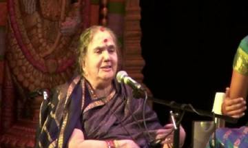 Carnatic vocalist Radha Vishwanathan, daughter of legendary singer MS Subbulakshmi dies at 83