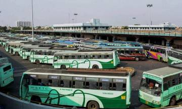 Bus services hit across Tamil Nadu as transport unions continue strike on 2nd day