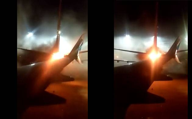 Video| Two planes collide on ground at Toronto's Pearson International airport (Source: YouTube)