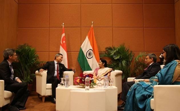 External Affairs Minister Sushma Swaraj  (Source: Twitter)