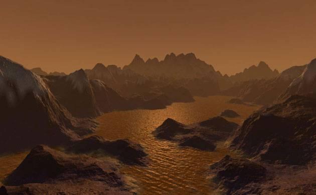 NASA's Cassini finds Saturn's moon, Titan, has Earth-like features (Source: NASA)